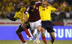 Colombia Venezuela Wcup Soccer