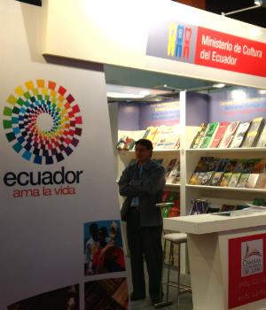 Feria Internacional del Libro de Quito.