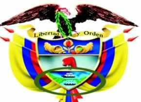 Que significael escudo de colombia