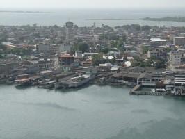 Vista aérea de Tumaco