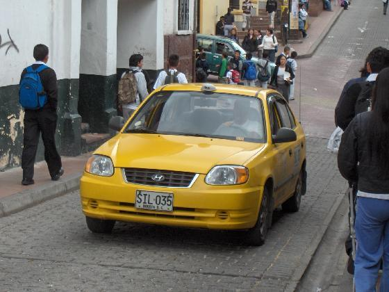 Taxis-Bogota
