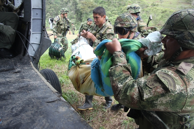valle del guamuez guerrilla 2012 clinic