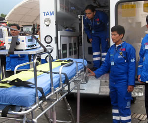 ambulancia bogota
