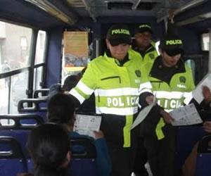 policia bus
