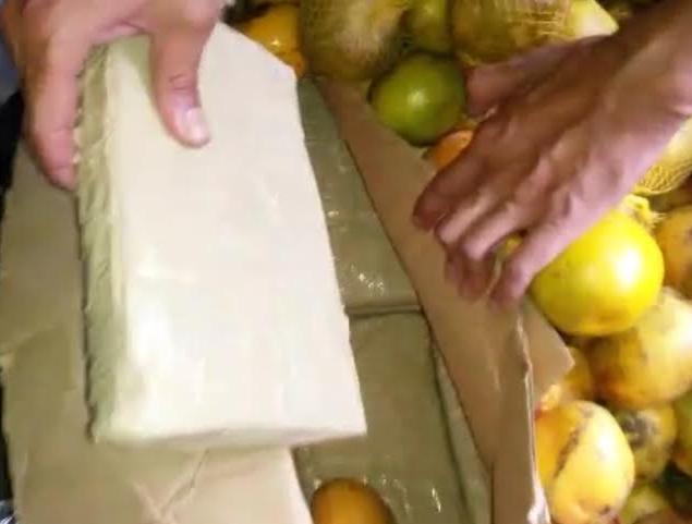 cocaína fruta