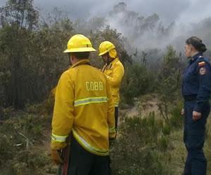 bomberos incendi forestal