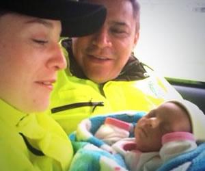 bebe rescata policia