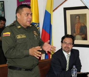 Guativonza y alcalde Teusaquillo