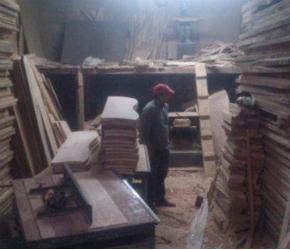 contaminación fabrica muebles