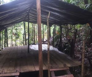 campamento bacrim choco