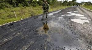 Derrame de crudo Puerto Asís