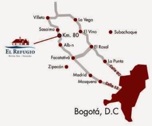 MAPA- BOGOTA- LA VEGA