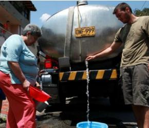 Escasez de agua en Boyacá