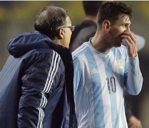 Martino y Messi