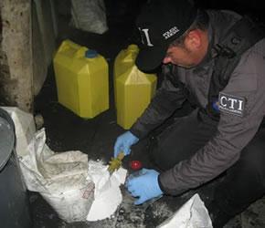 laboratorio cocaina