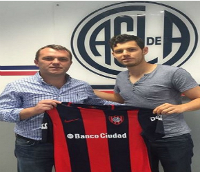 San Lorenzo presenta a Pedro Franco