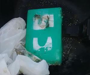 paquete cocaina