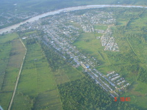 Panorámica del municipio de Arauquita