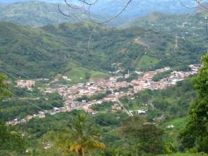 Panorámica del municipio de La Vega